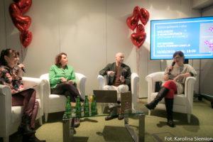 od lewej: dr Julita Czernecka, dr hab. Mariola Bieńko, prof. dr hab. Tomasz Szlendak oraz dr Katarzyna Kalinowska