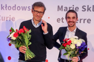 Laureaci pierwszej Polsko-Francuskiej Nagrody Naukowej: dr hab. Marcin Szwed i prof. Laurent Cohen