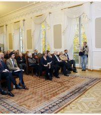 Uroczystość odbyła się w Sali Senatu w Pałacu Kazimierzowskim na Uniwersytecie Warszawskim
