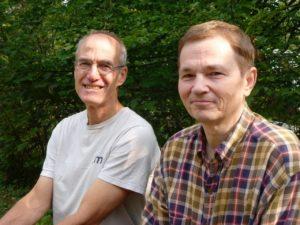 Od lewej_prof. Peter B. Reich i prof. Jacek Oleksyn_fot. Archiwum prywatne