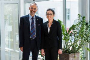 Prof. Leszek Kaczmarek i dr hab. Ewelina Knapska_fot.OneHD